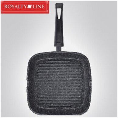 Сковорода-гриль 28 см Royalty Line RL-AG28M 3