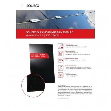 """Saules modulis """"Solibro"""" SL2-145 G2.3 UF 145Wp 4"""