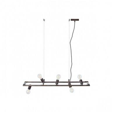Industriālā stila piekaramā lampa Brilliant Kalla 99120/76