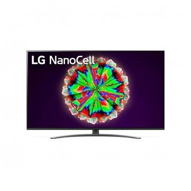LG 55NANO813NA NanoCell 4k Wi-Fi Smart televizorius