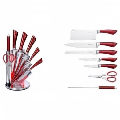 Набор ножей из нержавеющей стали Royalty Line RL-KSS804 из 8 предметов